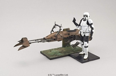 Bandai Star Wars Scout Trooper